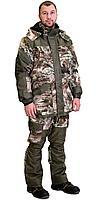 "Костюм ""ГОРКА"" зимний: куртка дл., брюки (тк.CROWN-230) КМФ ""Серый мох"", фото 1"