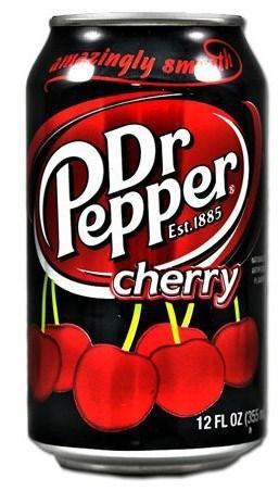Dr.Pepper Cherry (США) 0,35 литра