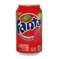Fanta Strawberry 0,355 литра США