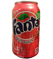 Fanta Fruit Punch 0,355 литра США