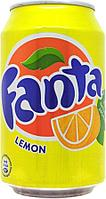 Fanta Lemon 330ml Дания