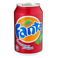 Fanta Strawberry & Kiwi 330ml Дания