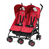 PEG PEREGO Kоляска трость Pliko MINI TWIN MOD RED