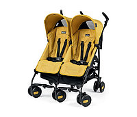 PEG PEREGO Kоляска трость Pliko MINI TWIN MOD YELLOW