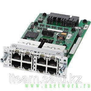 Модуль NIM-ES2-8-P  8-port PoE/PoE+ Layer 2 Gigabit Ethernet LAN Switch NIM