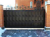 Консольные откатные ворота