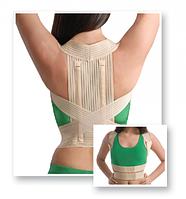 Корректор осанки эластичный с ребрами жесткостии MedTextile