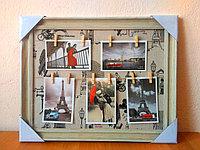 Коллаж на прищепках на 5 фото