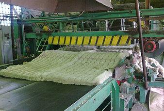 Производство прошивной минеральной ваты  -1