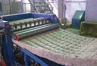 Производство прошивной минеральной ваты  2