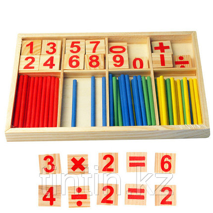 Счетные палочки и цифры, фото 2