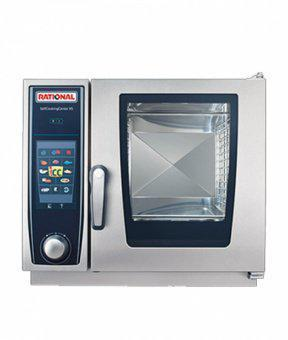Пароконвектомат бойлерный SelfCookingCenter Rational 6 GN 2/3 SCC XS 6 2/3, фото 2
