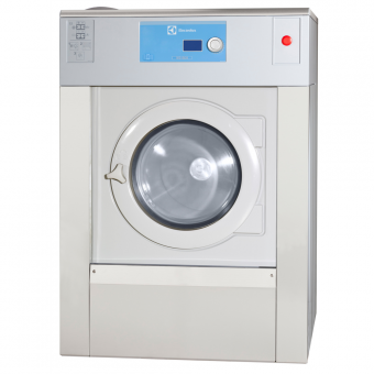 Промышленные стиральные машины подрессоренная, с высоким отжимом, тип управления - Compas Pro Electrolux загрузка 14 кг W5130H