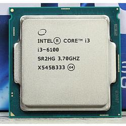 CPU Intel Core i3 6100 3.7 GHz 3Mb Tray LGA1151