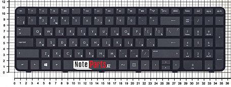 Клавиатура для ноутбука HP Pavilion G6-2000 черная с рамкой, фото 2
