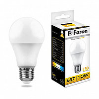 Лампа светодиодная LB-92 (10W) 230V E27 2700K A60