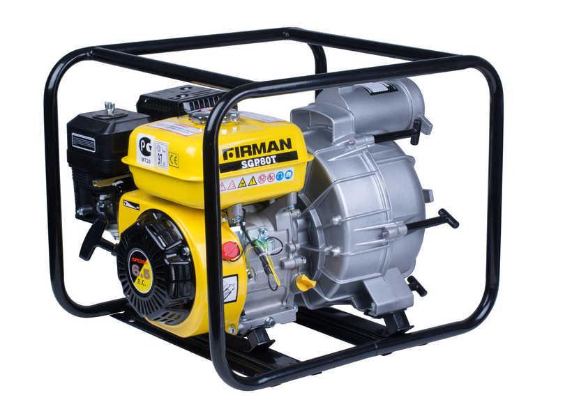 Мотопомпа  FIRMAN SGP80T для перекачки грязной воды