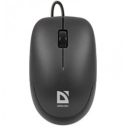 Мышь Defender Datum MM-010 Black (Черн), USB