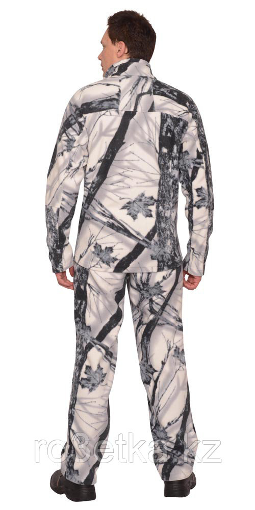 """Костюм флисовый """"ИРБИС"""": куртка, брюки """"Зимний лес"""""""