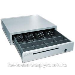 Денежный ящик «МИДЛ 1.0/К0» ( малый серый )   335х380х90 мм