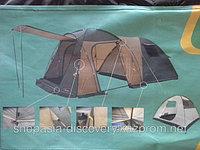 """Палатка четырех местная """"Min X-ART 1600w-3 New""""(Traveller 4 CV)"""