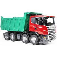 Самосвал Scania (подходит модуль со звуком и светом Bruder), фото 1