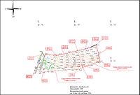 Посадка участка и проектной документации зданий на топографическую основу