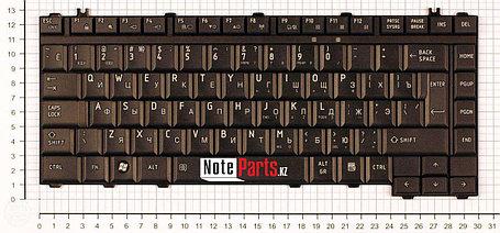 Клавиатура для ноутбука Toshiba Satellite A300/ M300/ L300, RU, черная, фото 2