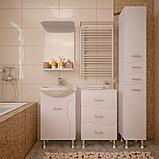 Пенал для ванной комнаты WaterWorld Орхидея, фото 2