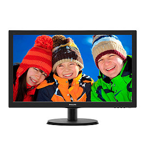 "Монитор 23,6"" PHILIPS 243V5LSB/01 Чёрный"