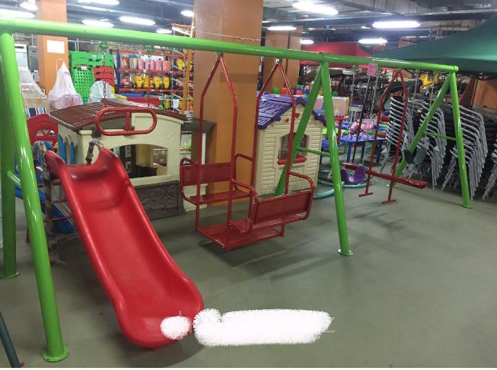 Детский игровой комплекс (качеля, горка)