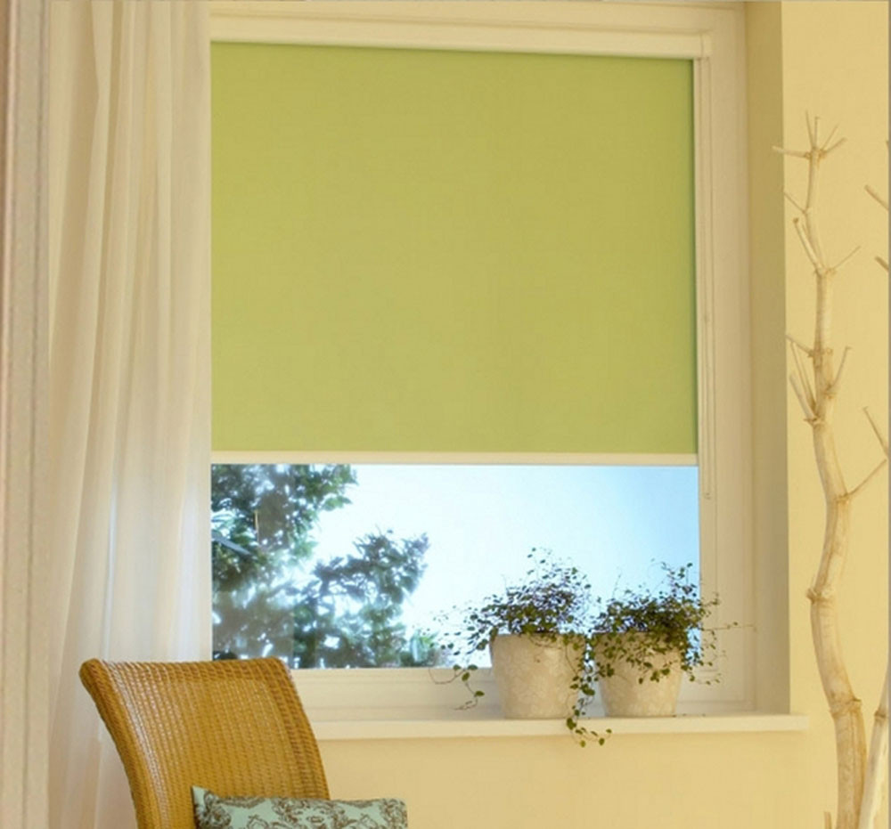 Ролл шторы Алфа (зеленный)
