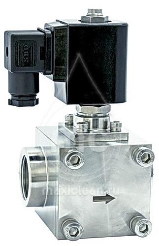 SVBA inox 20 Магнитный вентиль c розеткой 6- 160 bar.(230 V ~ 50 Hz)