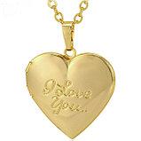 Кулон-медальон на цепочке ''I love you'' , фото 5