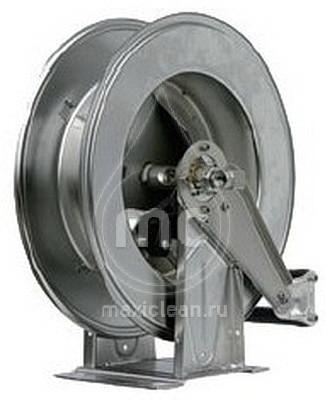 Барабан инерционный R+M 534, 300bar, шланг 24-28m, 1/2внут-1/2внут, нерж.сталь