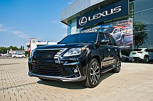 Обвес Lexus LX570 2012-2015
