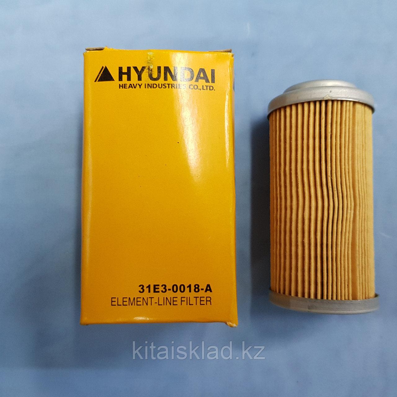 Элемент топливного фильтра на Hyundai. 42x87