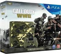 PS-4 Slim 1 TB Green Camouflade + Call of Duty WWII (европейский)