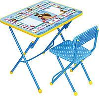 """Комплект детской мебели """"Маша и медведь. Азбука 2"""", стул мягкий Ника"""
