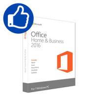 Microsoft Office 2016 Home and Business Box