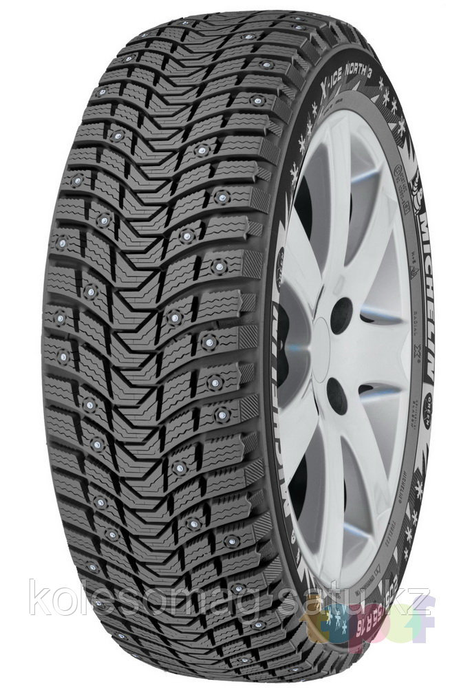 Michelin Latitude X-Ice North 3 шипованные - kolesomag в Алматы