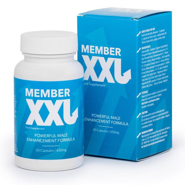 Member XXL (Мембер XXL) - капсулы для потенции