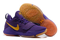 "Кроссовки Nike Zoom PG 1 ""Purple/Brown"" (40-46), фото 1"