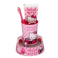 Набор Hello Kitty Timer Gift Set HK-13: Зубная щетка + зубная паста+ стакан (таймер)