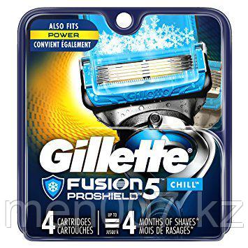 Gillette Fusion 5 PROSHIELD (4 кассеты) США