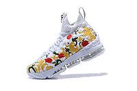 """Баскетбольные кроссовки Nike LeBron XV (15) """"Floral"""" Zipper (40-46), фото 2"""
