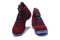 "Баскетбольные кроссовки Nike LeBron XV (15) ""Vine Red/Deep Purple"" (40-46), фото 3"