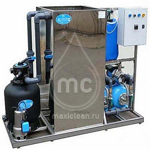 Система очистки воды для автомоек АРОС-1.1 Д inox