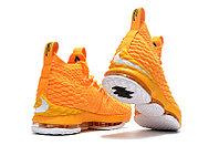 "Баскетбольные кроссовки Nike LeBron XV (15) ""Yellow/White"" (40-46), фото 6"