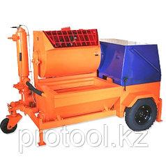 Агрегат штукатурно-смесительный АШС-2500 2,5 м3/ч, 6,25кВт, 380В, 1,47 МПа, подача: гор/вер 100/30м